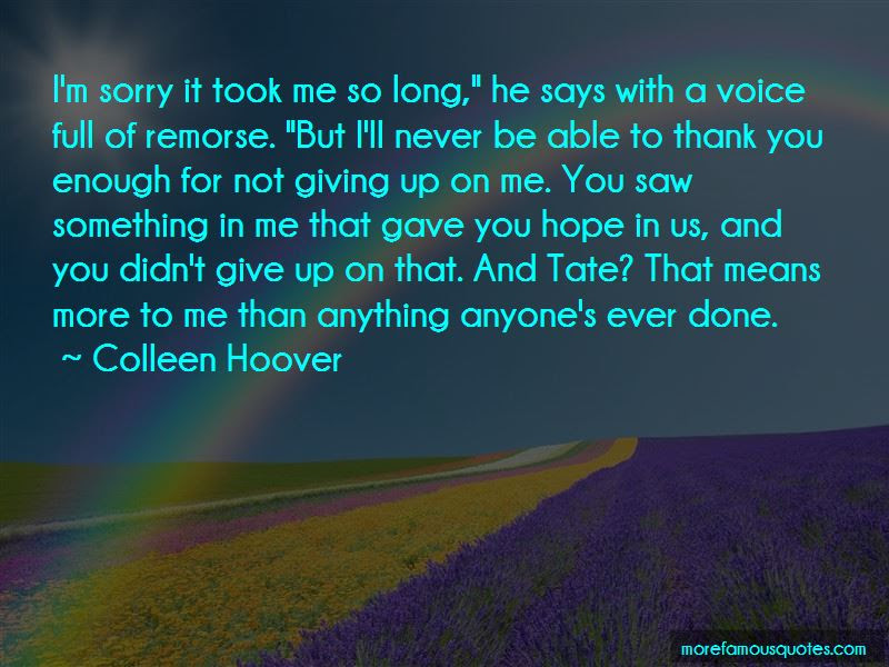 Thank You But Sorry Quotes Top 28 Quotes About Thank You But Sorry