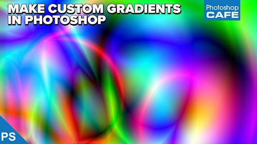 How to Make custom gradients in Photoshop. Gradient tool Crash Course.