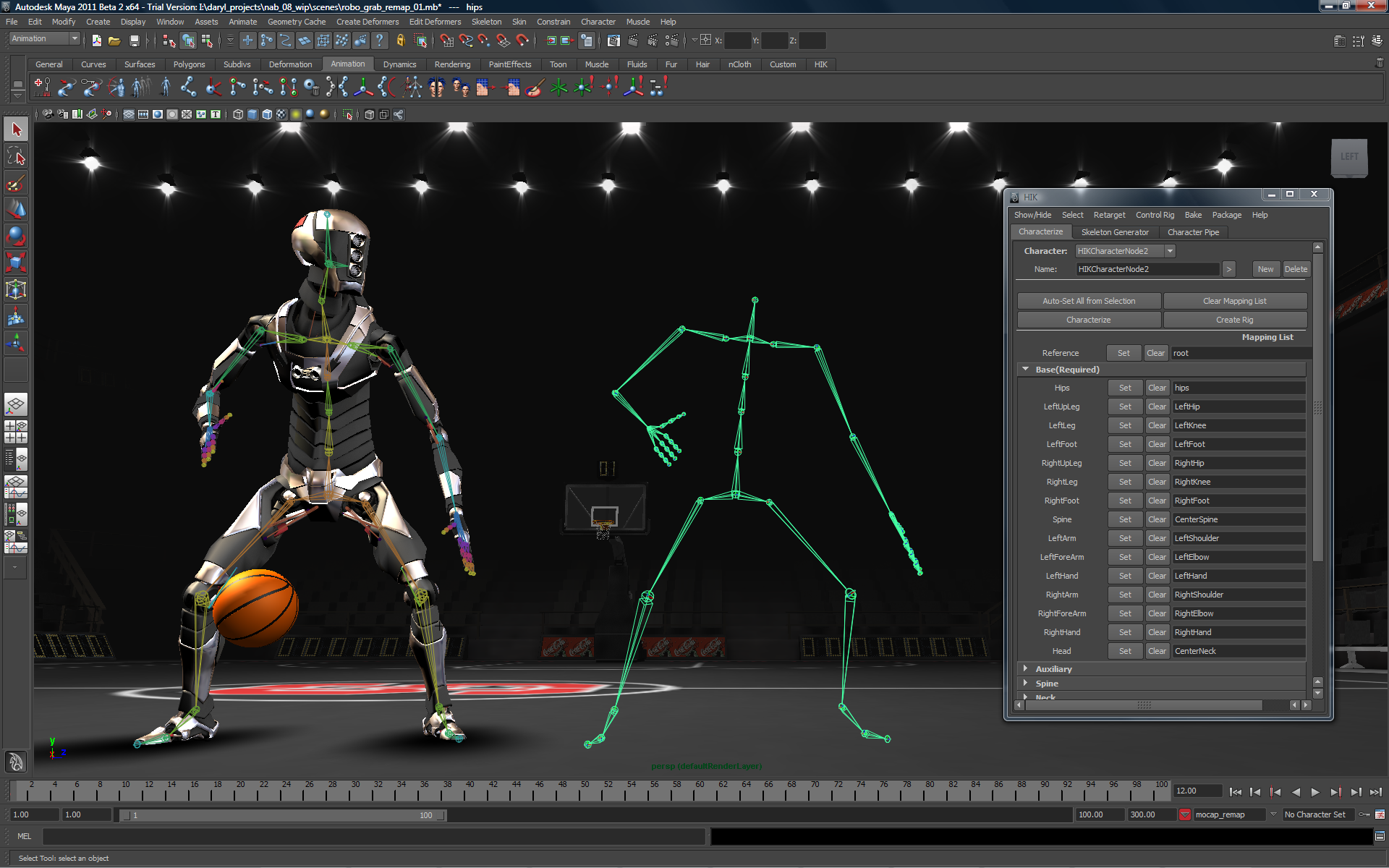 Animated 3d wallpaper jarvis interface - Autodesk Maya
