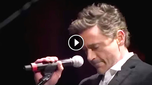 Robert Downey Jr. Is Nervous To Perform With Sting. But When He Starts To Sing? UNBELIEVABLE!