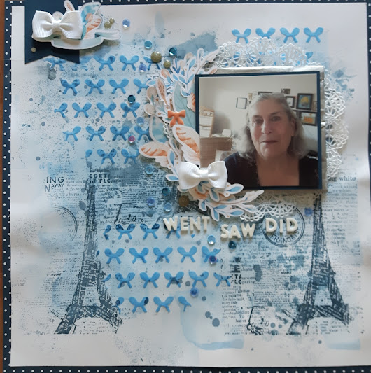 Cheeky Studio – Guest Designer – April 2018: Went Saw Did