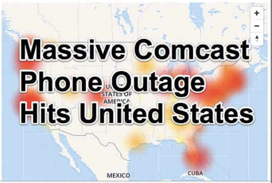 Massive Comcast Phone Outage Across the Country for Second Day in a Row - The Internet Patrol