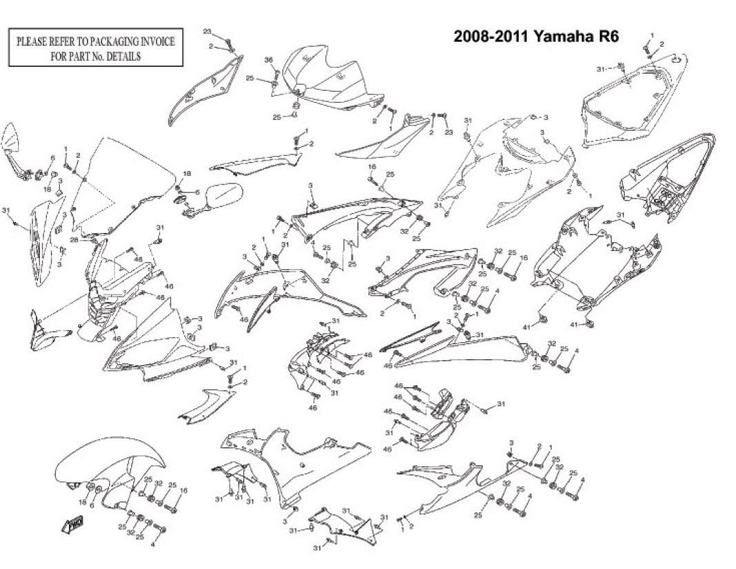 Yamaha 2008 R1 Wire Diagram