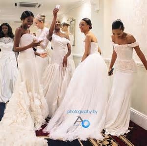 Alonuko Bridal Dress Designer London UK ~ My Afro