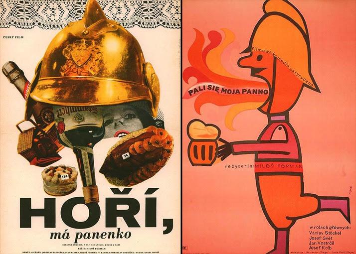 Resultado de imagem para Horí, má Panenko poster