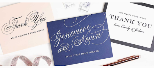Express Your Gratitude With Thank You Notes - Shopping Kim