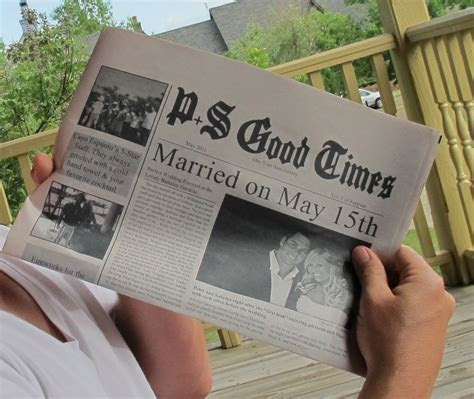 Newspaper of your first year   for traditional 1 year