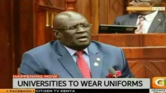 On Magoha, University students to wear school Uniforms (What you need to know)