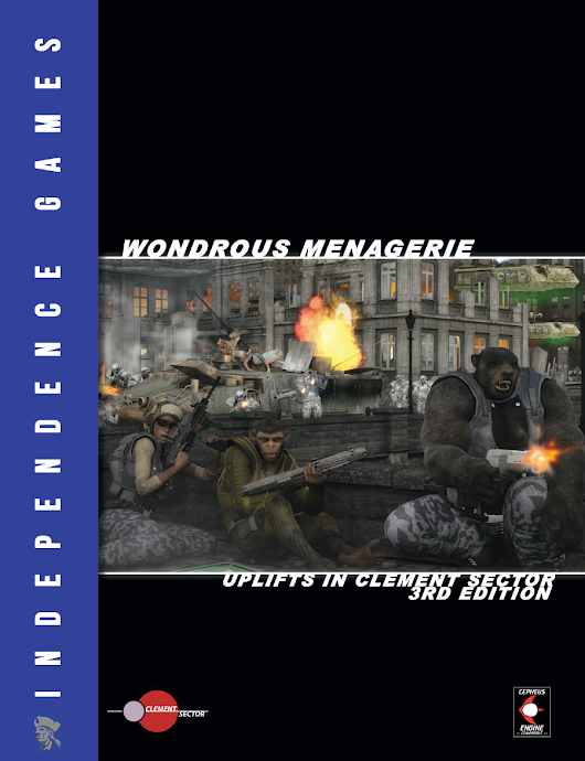 Wondrous Menagerie: Uplifts in Clement Sector