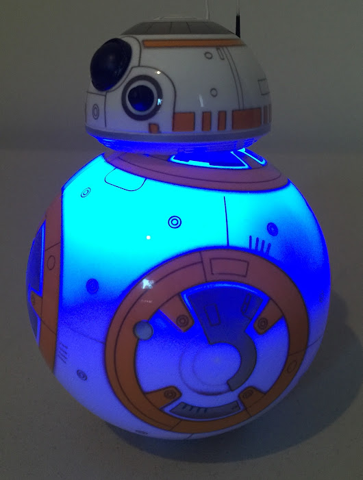 Control a Star Wars BB-8 Droid using MQTT, Bluemix Internet of Things Foundation, and Node-RED