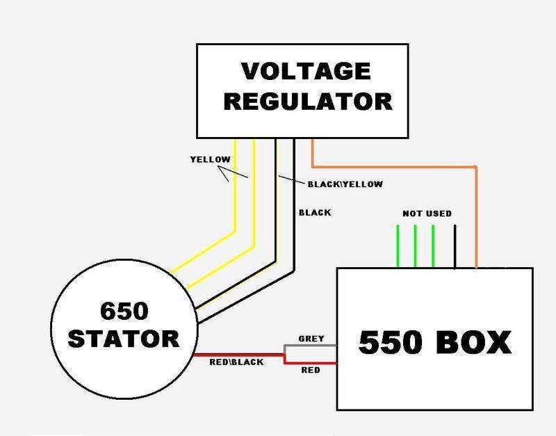 4 Wire Voltage Regulator Wiring Diagram