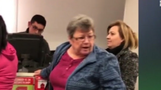 Customer goes off in ugly, racist rant at shoppers