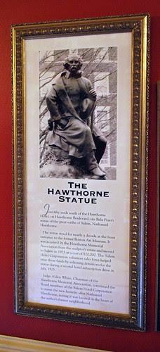 The Hawthorne Statue