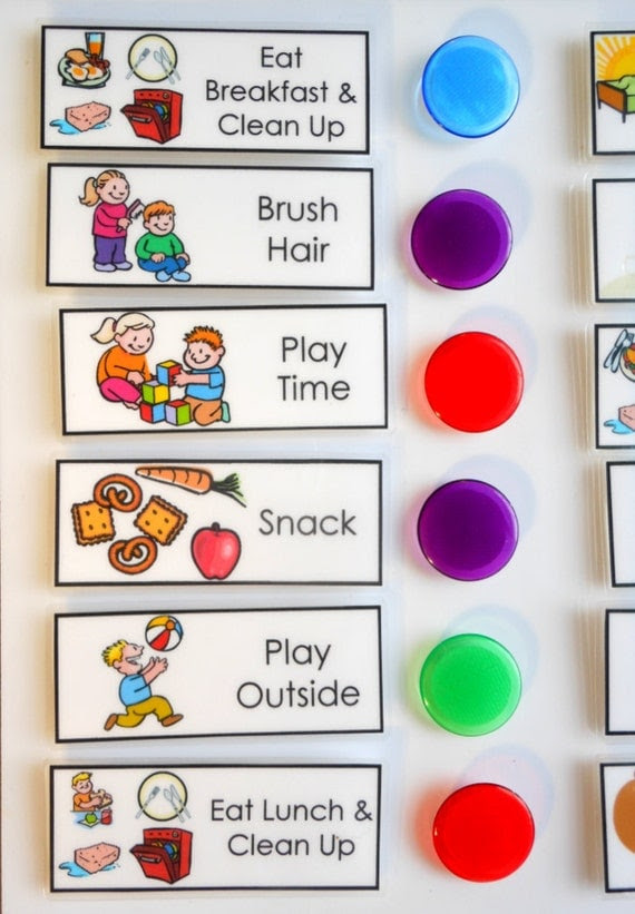 Chore Chart for Kids Daily Checklist To Do List by MainlyCharts