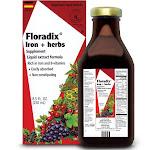 Flora Floradix Iron + Herbs Supplement, Liquid - 8.5 fl oz bottle