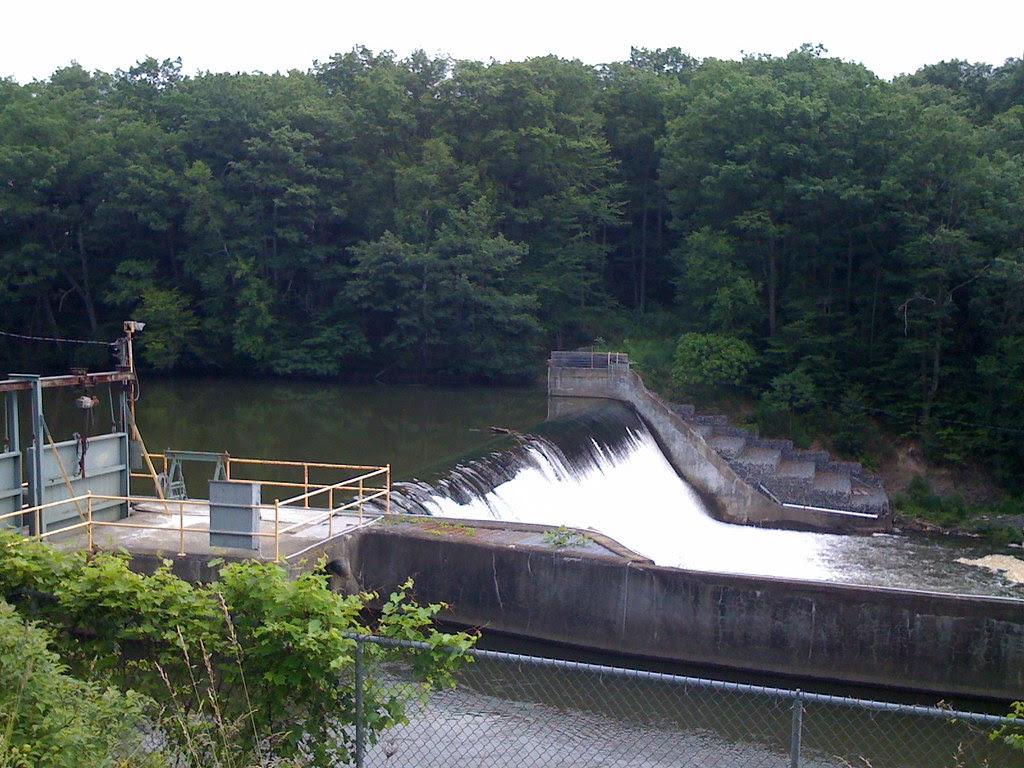 New York Historical Marker - Collier's Dam