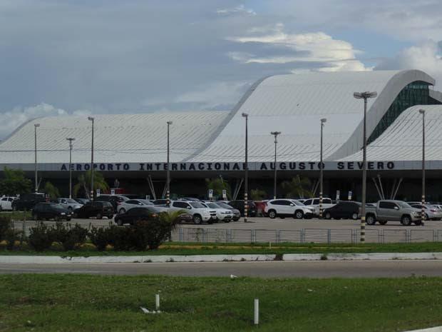 Aeroporto Augusto Severo será entregue à FAB (Foto: Fernanda Zauli/G1)