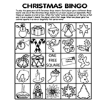 Free Christmas Bingo