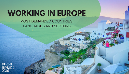 Working in Europe: which languages are needed and in which sectors?