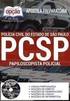 Apostila Polícia Civil SP, Papiloscopista,Estado de São Paulo