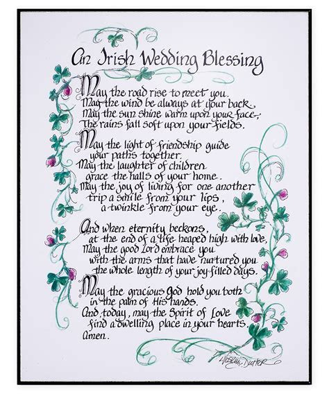 Wedding Traditions and Meanings: Irish Wedding Blessings