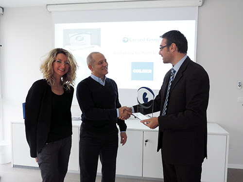 "A COLSER il premio ""Company to Watch 2014"" - CO.L.SER. s.c.r.l."