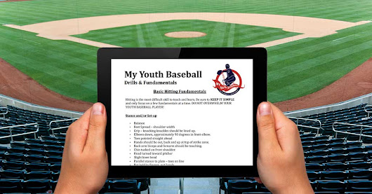 Free Baseball Drills and Fundamentals eBook | MY YOUTH BASEBALL