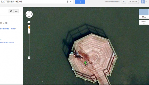 Two Men Dragging A Dead Body On Google Maps