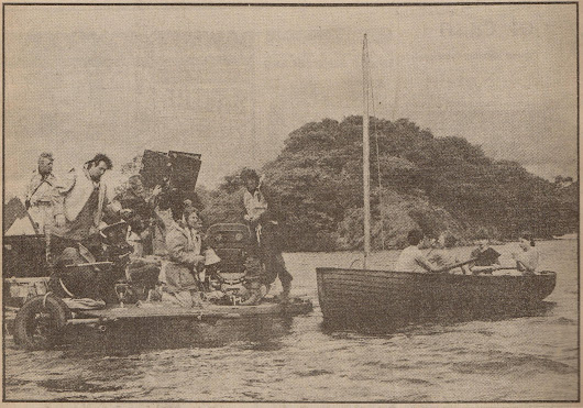 Boats used for making the original film 'Swallows and Amazons' (1974)