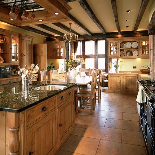 Modern Country Kitchens Design - Interior design