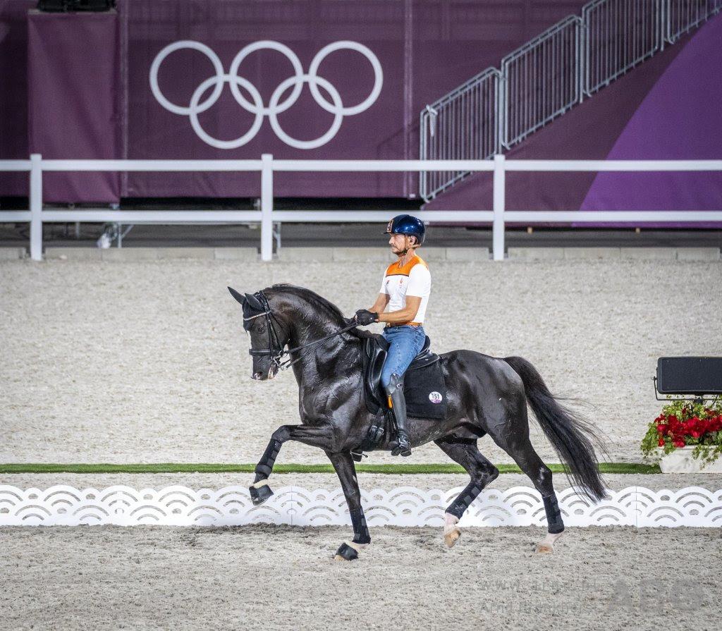 NOS zendt paardensport Tokio beperkt uit, betaalde Eurosportplayer laat alles zien