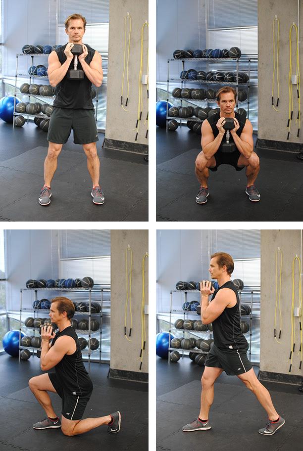 5 Moves for Burning Fat Goblet Squats