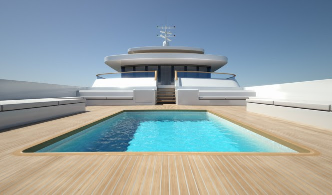PROJECT LIGHT superyacht Swimming Pool