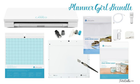 Silhouette CAMEO 3 - Planner Girl Bundle by Silhouette America for Scrapbooks, Cards, Home Decor, School Projects, Office Projects, Clothing, Crafting