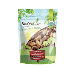 Organic Brazil Nuts, 5 Pounds - by Food to Live