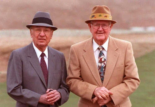On February 10, 1992, Ben Hogan and his lifelong friend Byron Nelson