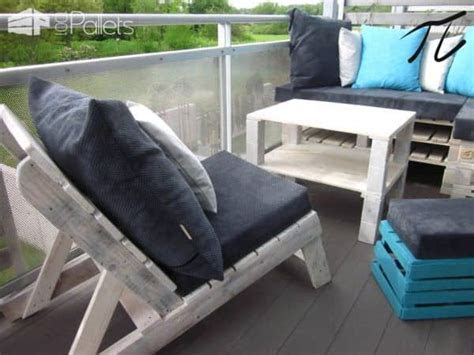 Upcycled Pallet Terrace Design ? 1001 Pallets