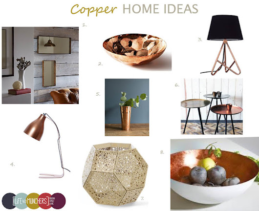 Shop The Trend | Copper Home Decor Ideas - Lifestyle & Parenting Blog | Life With Munchers