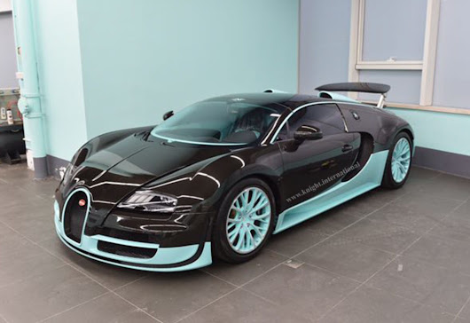 Tiffany & Co. Bugatti Veyron, 1 of 1 - Exotic Car List