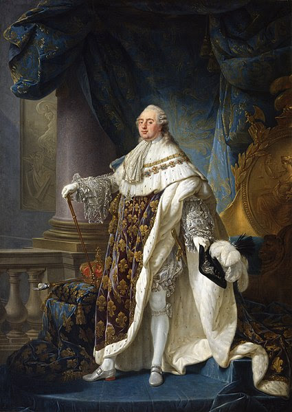 Portrait of Louis XVI by Antoine-François Callet