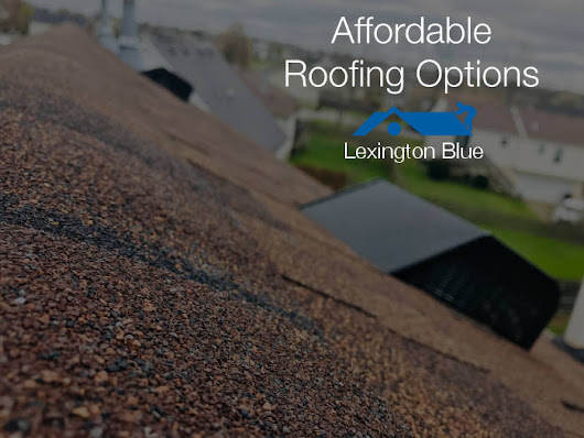 2 Affordable Options For A New Roof On Your Home In Lexington KY