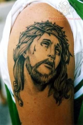 15 Inspiring Jesus Tattoos Designs On Neck Forearm Back