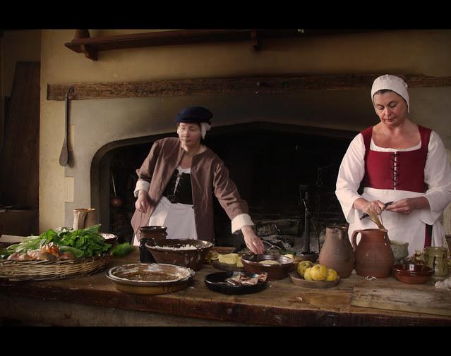 Kentwell Hall - Kitchen