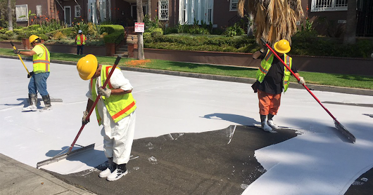 Los Angeles Is Painting The Streets White, And There's A Good Reason Why