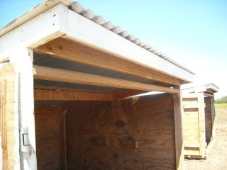 Goat Shed Redesign Large Door Frame