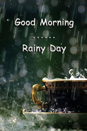 Good Morning Rainy Day Picture Quotes