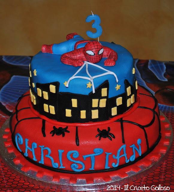 Torta Spiderman 3