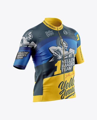 Download Mens Cycling Jersey Jersey Mockup PSD File 127.15 MB