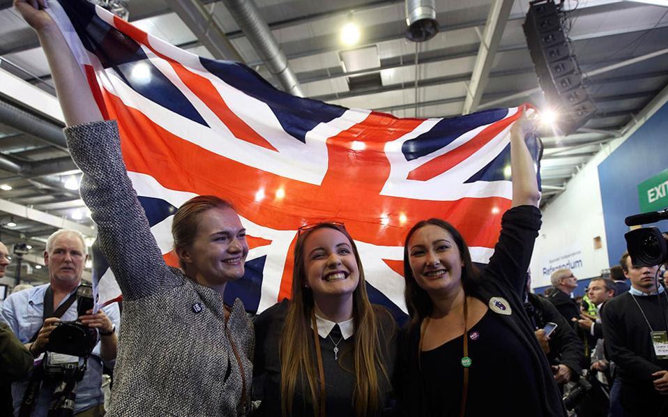 Οι Σκωτσέζοι κράτησαν ενωμένο το Βασίλειο