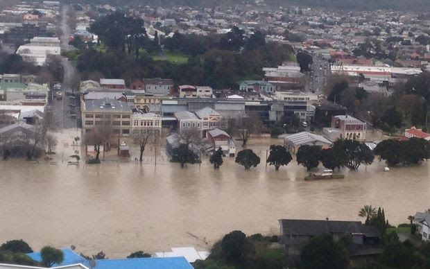 An image of Wanganui taken by a resident.